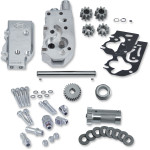 HIGH VOLUME / HIGH PRESSURE (HVHP) POLISHED BILLET OIL PUMP KIT
