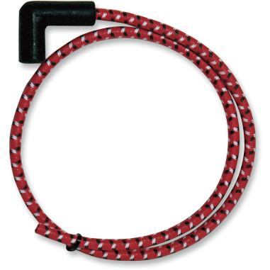 PLUGWIRES SUPRSN 8MM RED