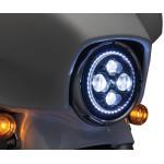 "7"" ORBIT VISION LED HEADLAMP WITH HALO"