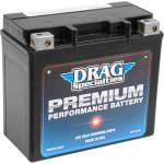 DRAG SPECIALTIES PREMIUM PERFORMANCE BATTERIES