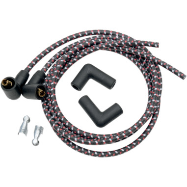 PLUGWIRES SUPRSN 8MM BLK
