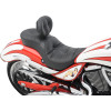 LOW-PROFILE TOURING SEATS WITH BACKREST OPTION