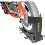TRAILER ONLY WHEEL CHOCK STAND