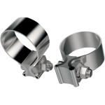 STAINLESS STEEL MUFFLER CLAMPS