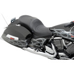 LOW-PROFILE TOURING SEATS WITH BUILT-IN BACKRESTS