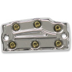 BOMBER SERIES FRONT MASTER CYLINDER COVER