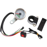"17/8"" MINI PROGRAMMABLE ELECTRONIC SPEEDOMETERS WITH INDICATOR LIGHTS"
