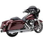 "4"" CHROME SLIP-ON MUFFLERS WITH RACE-PRO TIPS"