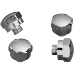 CHROME-PLATED ROCKER SHAFT END PLUGS