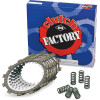 CLUTCH FRICTION DISCS, STEEL AND ALUMINUM PLATES, CLUTCH SPRINGS AND COMPLETE KITS