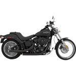 MEAN MOTHERS<tm> DRAG PIPES, BLACK 2-INTO-2 SYSTEMS FOR SOFTAIL SECTION