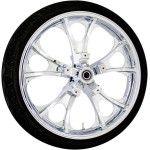 MOTO PRECISION CAST LARGO/ATLANTIC 3D WHEELS W/TIRES