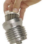 "FLO STAINLESS STEEL, REUSABLE ""SPIN ON"" OIL FILTER"