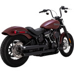 "3"" ROUND TWIN SLASH SLIP-ON MUFFLERS"
