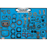 GASKET, SEAL AND O-RING DISPLAY FOR BIG TWIN MOTORS