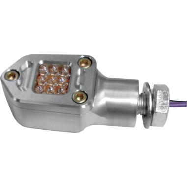 LED SQUARE MRKR LITE CLR