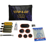 SCOOTER TUBE-TYPE TIRE REPAIR AND INFLATION KIT