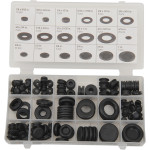 Rubber grommet and plug assortment