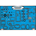 GASKET, SEAL AND O-RING DISPLAY FOR BIG TWIN TRANSMISSIONS