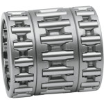 ROD ROLLER BEARINGS WITH RETAINERS