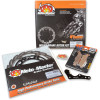 270MM FLAME ROTOR/BRAKE PAD KIT