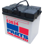 CONVENTIONAL 12V BATTERY W/ HANDLE
