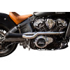 2-INTO-1 HOT ROD EXHAUST--Indian