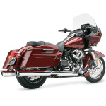 "4"" CHROME SLIP-ON MUFFLERS WITH DUAL CUT TIPS"