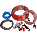 AMP INSTALL KIT W/ 8-GAUGE WIRE