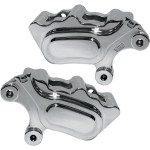 4-PISTON FRONT BRAKE CALIPERS