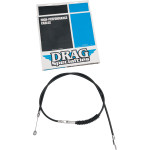 BRAIDED AND BLACK VINYL HIGH EFFICIENCY (H.E.) CLUTCH CABLES
