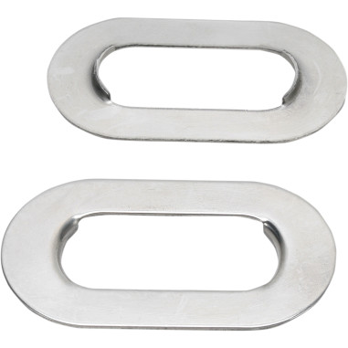 STAINLESS STEEL AXLE ADJUSTER PLATES