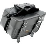 Box Style Slant Saddle Bag