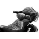Heated One-Piece Touring seat, INDIAN