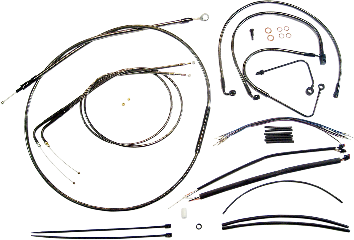 Control Cable Kit Bp Products Drag Specialties 174
