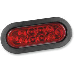 WATERPROOF LED OVAL GROMMET-MOUNT TAILLIGHTS