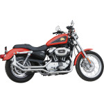 """13/4"""" SIDE-BY-SIDE UPSWEEP FISHTAIL EXHAUST"""