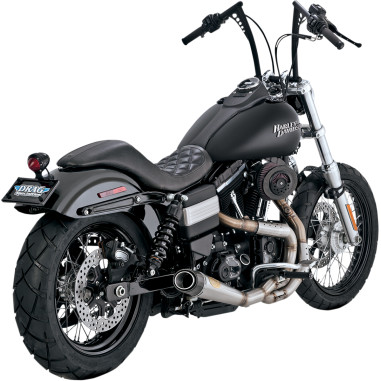 EXHAUST 2-1 SS 06-15 DYNA