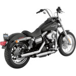 "2 1/2"" SLASH-CUT SLIP-ON MUFFLERS FOR DYNA"