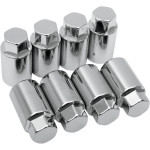 CHROME CYLINDER BASE NUT-IRONHEAD/XL