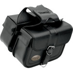 SLANT FLAP-OVER STYLE SADDLEBAGS