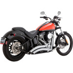 BIG RADIUS EXHAUST 2-INTO-2 EXHAUST SYSTEMS FOR SOFTAIL SECTION