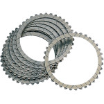 CLUTCH PLATES AND STEEL PLATES