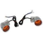 CHROME BULLET-STYLE TURN SIGNALS