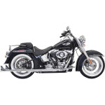 True Duals with fishtail mufflers 2-INTO-2 SYSTEMS FOR SOFTAIL SECTION