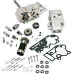 BILLET OIL PUMP KITS WITH UNIVERSAL COVER