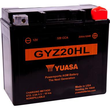 BATTERY YUASA GYZ20HL | Products | Drag Specialties®
