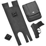 E-Z CARRY™ POUCHES FOR SADDLEBAGS WITHOUT GUARD RAILS