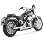 STRAIGHTSHOTS 2-INTO-2 EXHAUST SYSTEM FOR SOFTAIL