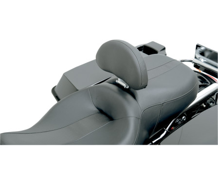 DRIVER BACKREST KIT FOR OEM DRESSER/TOURING SEATS-